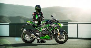 2021 Kawasaki Z H2 SE HD wallpaper