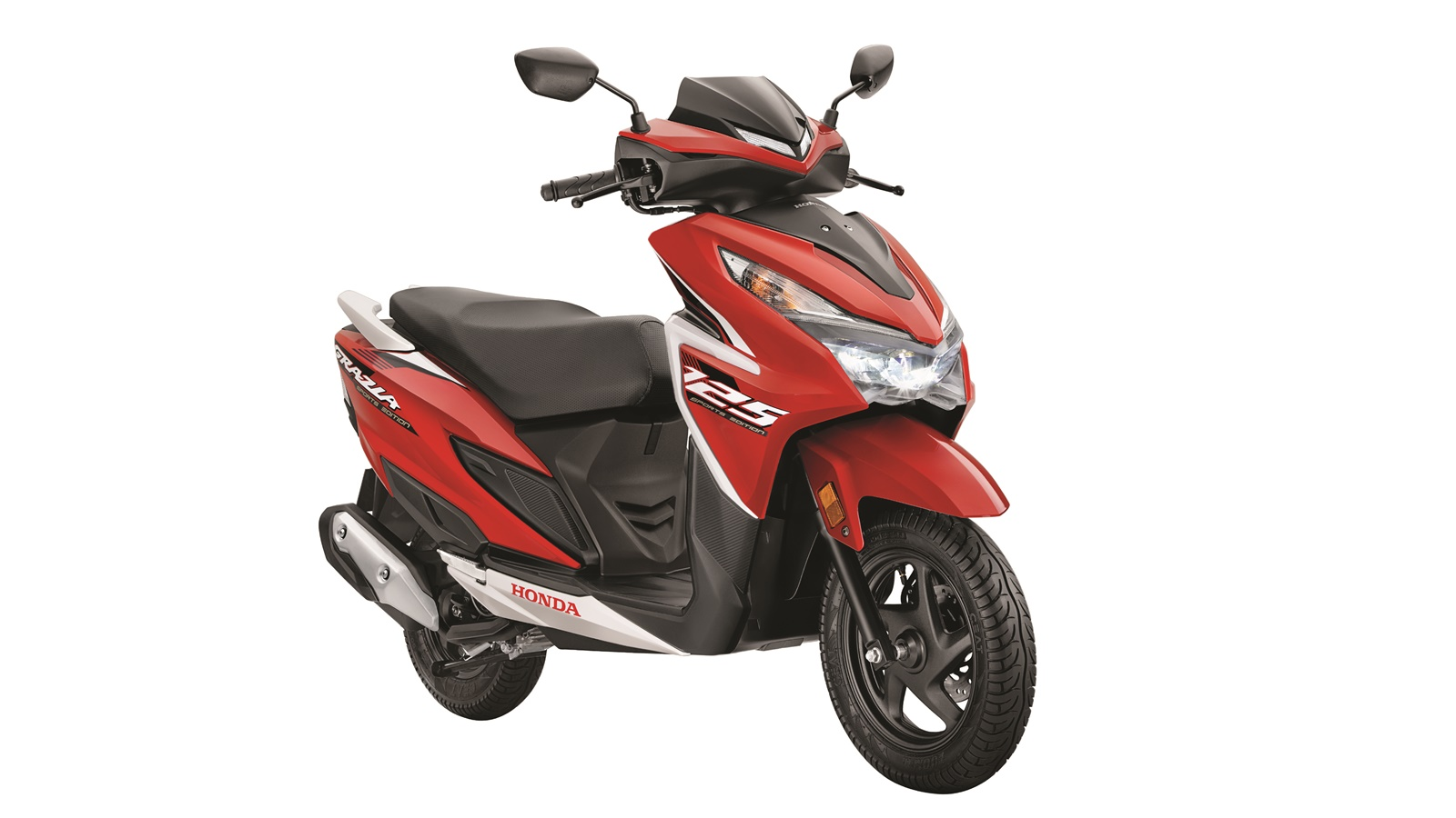 Honda Grazia Sports Edition launched Sports Red colour option
