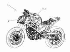 KTM 490 Duke Radar Patents