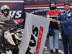 Mr. Shrivishnu S 'One Nation Different Uniform' ride powered by TVS