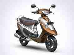 TVS Scooty Pep Plus Mudhal Kadhal Edition