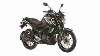 2021 Yamaha FZS FI (Dark Knight) colour option with bluetooth
