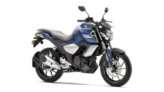 2021 Yamaha FZS FI (Dark Matte Blue) colour option with bluetooth