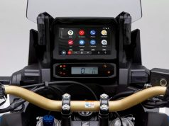 2021 Honda Africa Twin 1100 Android Auto
