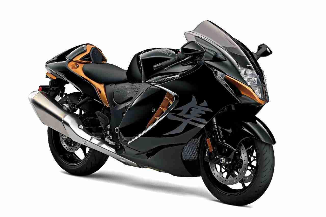 2021 Suzuki Hayabusa black