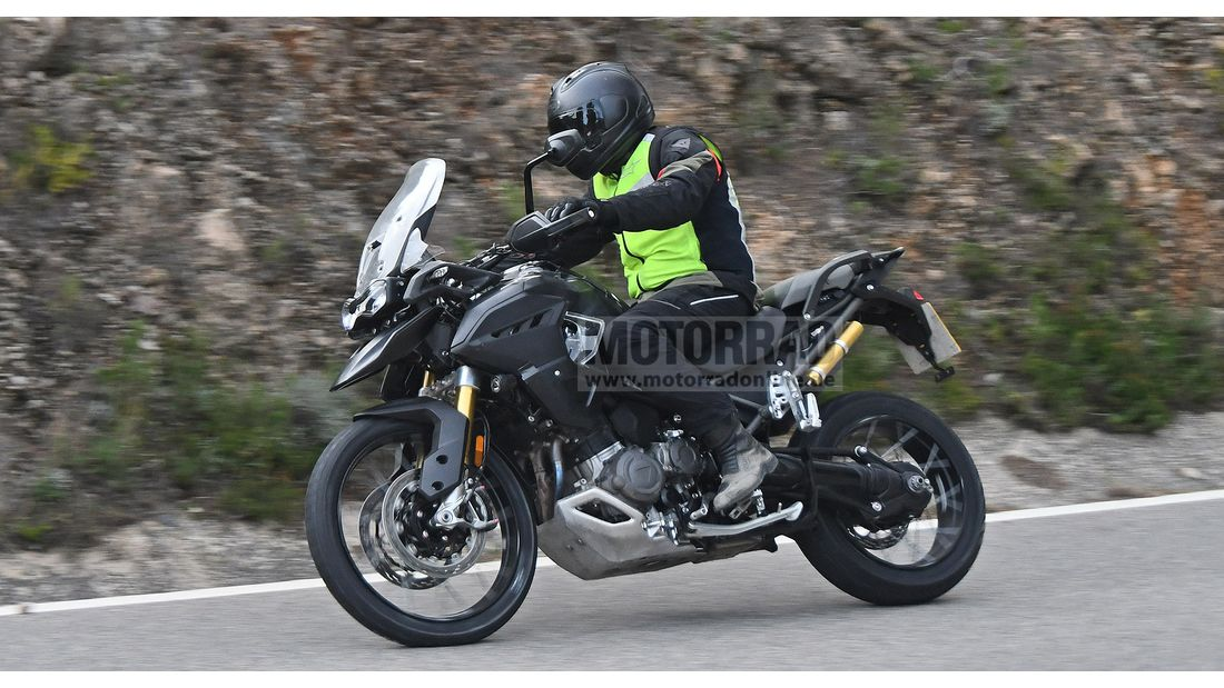 2022 Triumph Tiger 1200 Spy Images