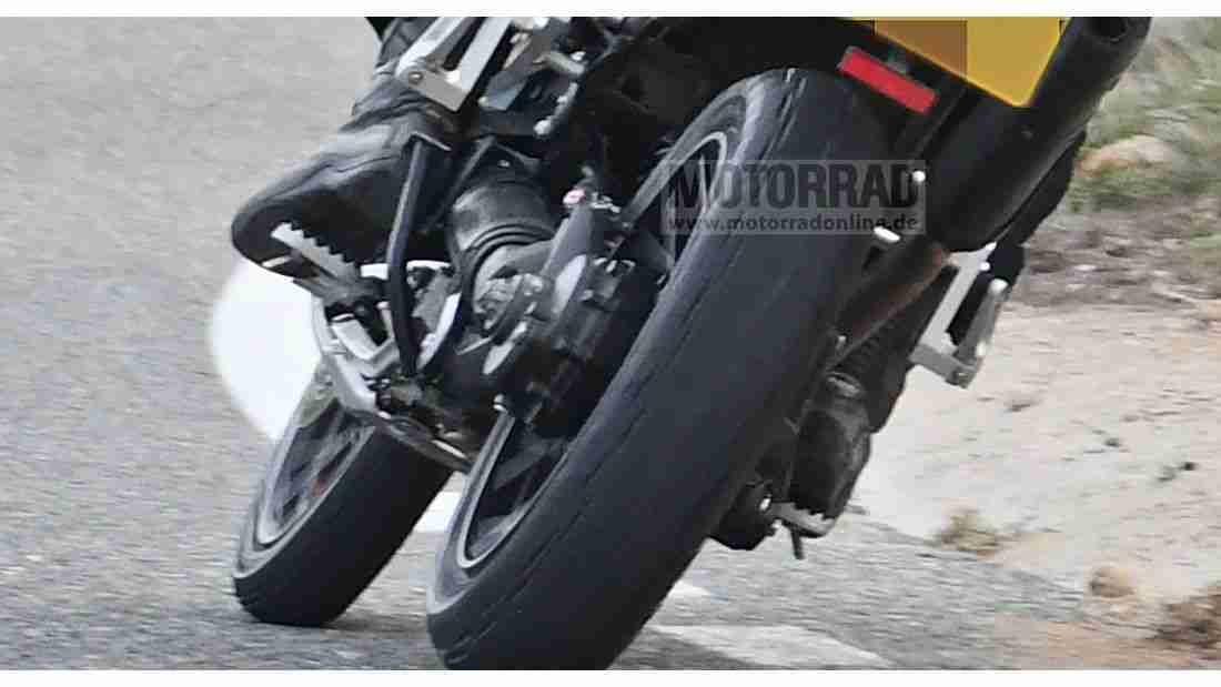2022 Triumph Tiger 1200 Spy Images