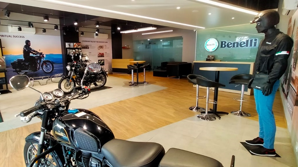 Benelli India dealership now in Bilaspur