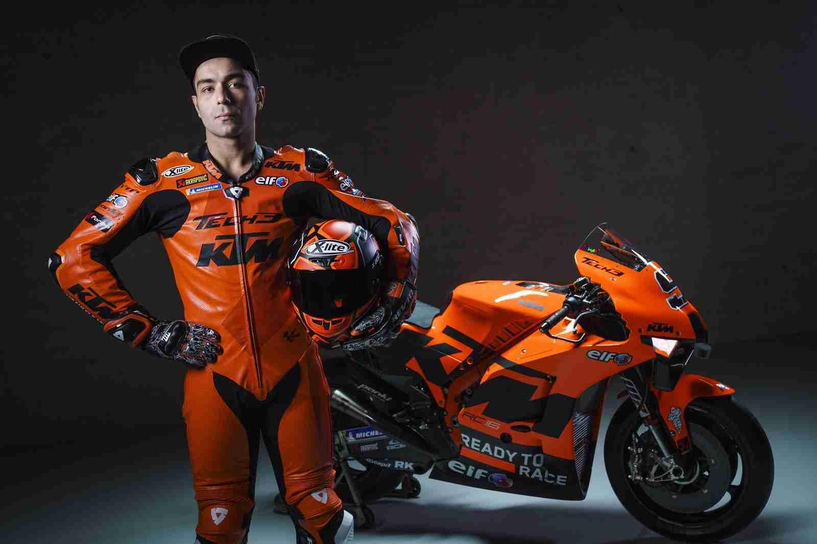 Danilo Petrucci Tech3 KTM Factory Racing MotoGP