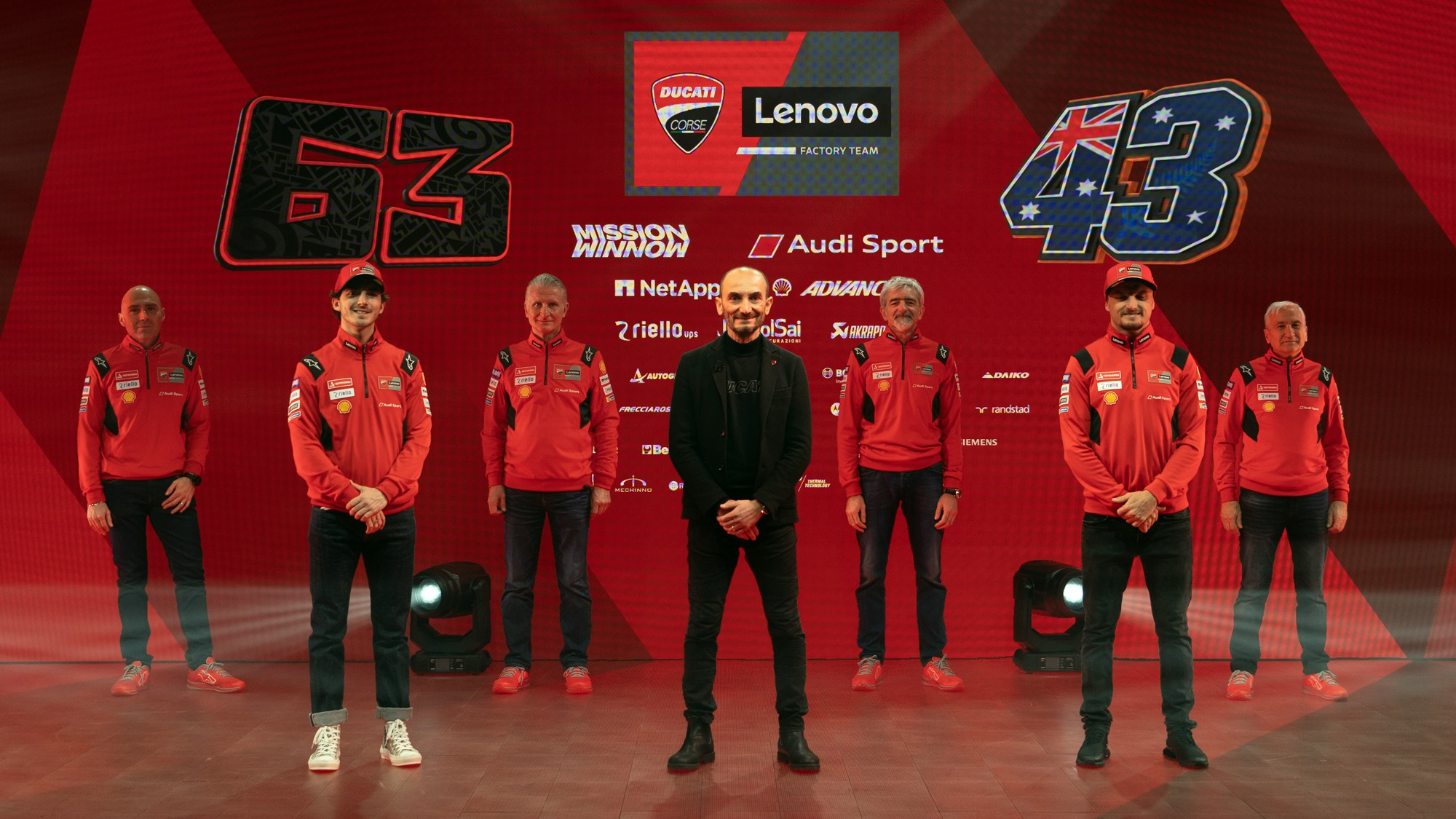 Ducati MotoGP team 2021