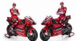 Miller and Bagnaia Ducati MotoGP team 2021