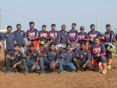 TVS factory racing team 2020 Indian National Rally Championship (INRC)