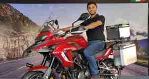Vikas Jhabakh, Managing Director, Benelli India dealership in Bilaspur