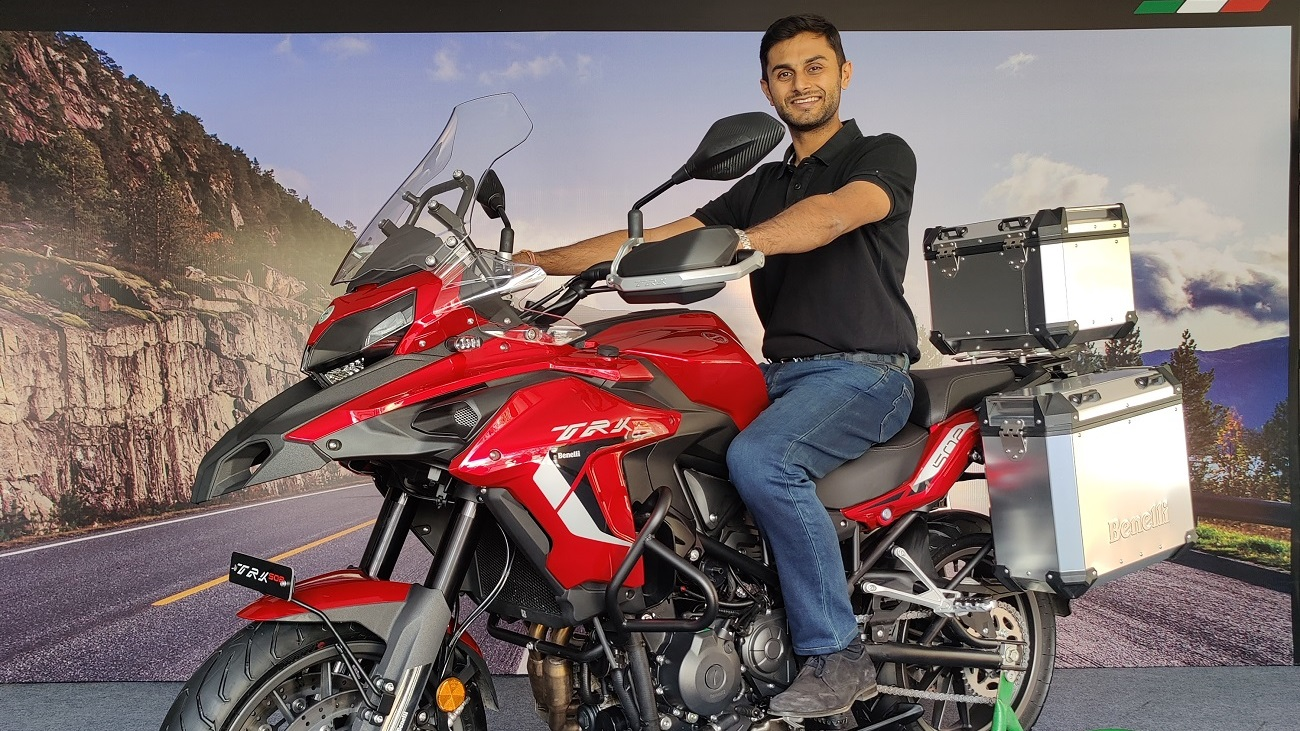 Vikas Jhabakh, Managing Director, Benelli India dealership in Bilaspur