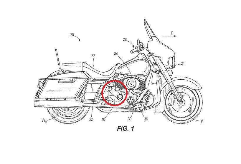 Harley-Davidson Supercharged V-Twin Patents