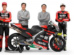2021 Aprilia Racing Team Gresini witn RS-GP