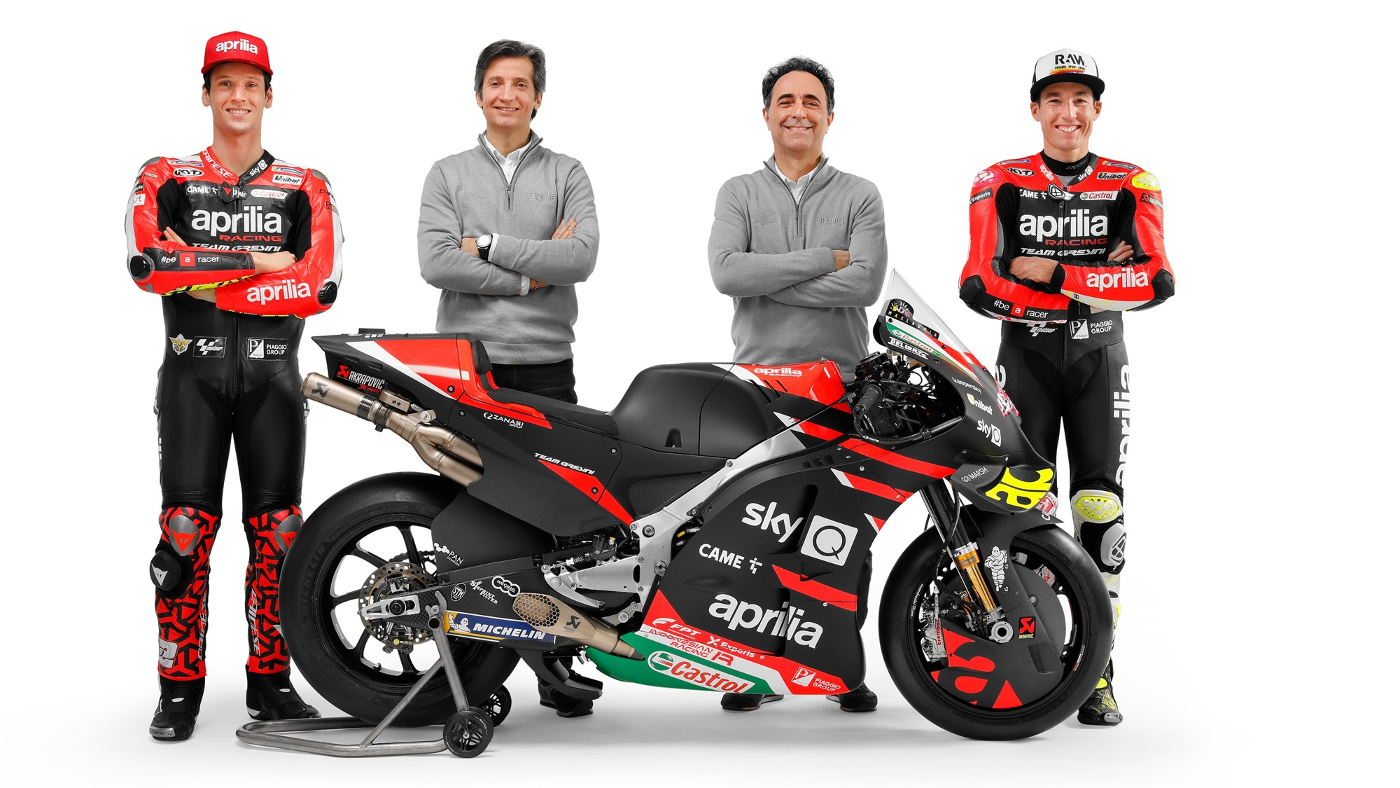 2021 Aprilia Racing Team Gresini witn RS-GP
