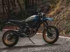 2021 BS6 Ducati Scrambler Desert Sled