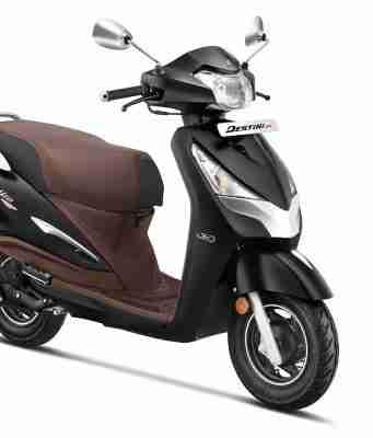 2021 Destini 125 Platinum edition launched