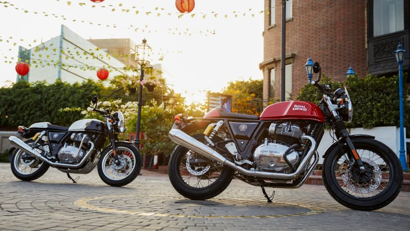 2021 Royal Enfield Continental GT 650 new colour options