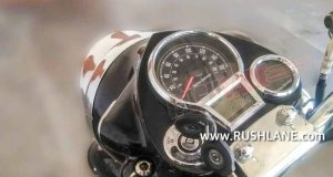 2021 Royal Enfield Classic 350 Tripper Navigation System