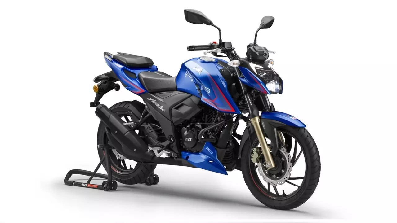 2021 TVS Apache RTR 200 Single-Channel ABS & Ride Modes