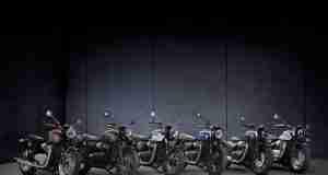 2022 Triumph Bonneville Range