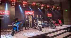 Aprilia enters Nepal with Aprilia SXR 160