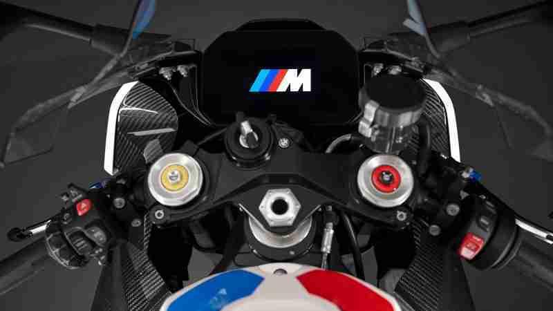 BMW M 1000 RR instrument console