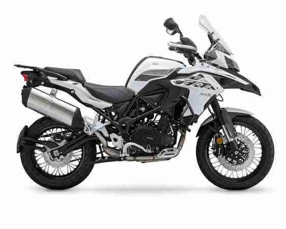 BS-VI Benelli TRK 502X white colour option
