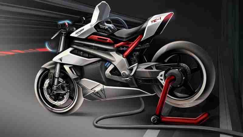 TRIUMPH TE-1 electric bike