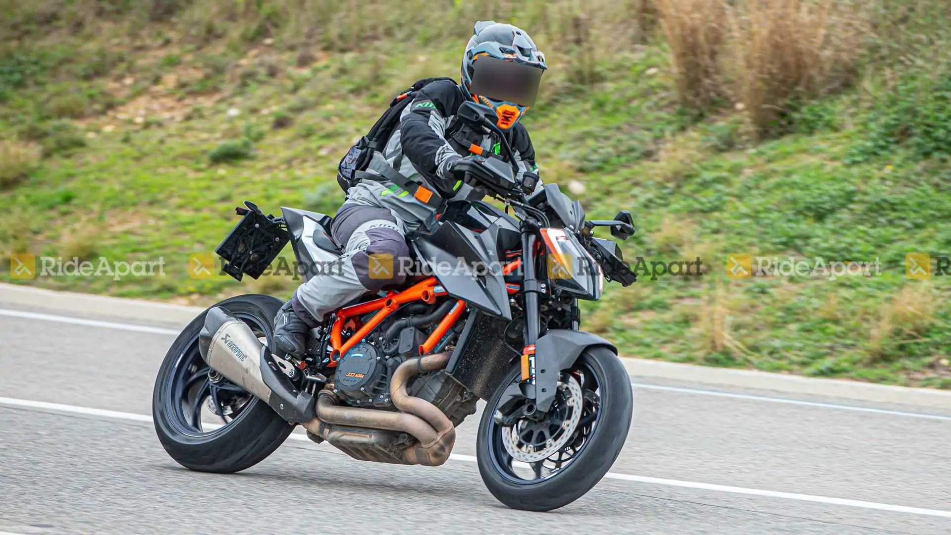 KTM 1290 Super Duke RR Spy Images