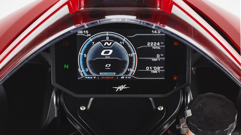 2021 MV Agusta Superveloce TFT LCD screen