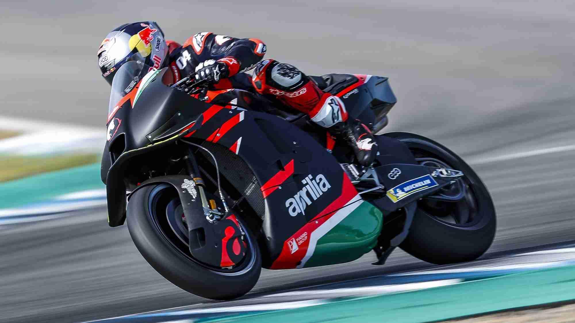 Andrea Dovizioso to test Aprilia RS-GP MotoGP bike again