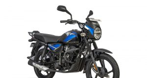 New 2021 Bajaj CT110X Blue colour option