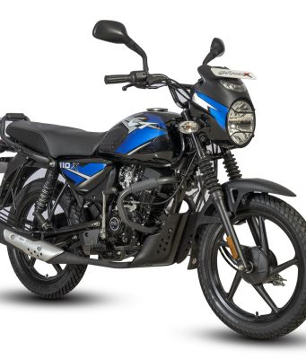 New 2021 Bajaj CT110X Blue colour option