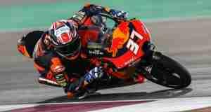 Pedro Acosta does magic in Moto3 Qatar race