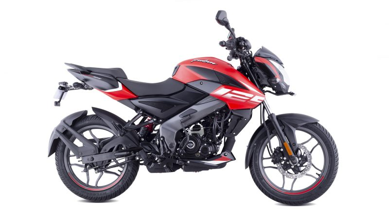 Pulsar NS 125 Burnt Red colour option