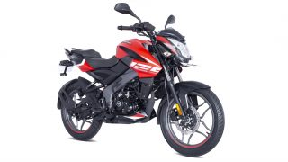 Pulsar NS 125 Burnt Red colour options