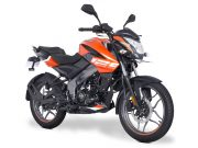 Pulsar NS 125 Fiery Orange colour option