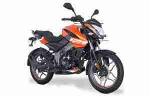 Pulsar NS 125 Fiery Orange colour option