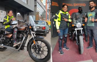 Royal Enfield extends supports to Archana Thimmaraju and the'Silent Expedition'