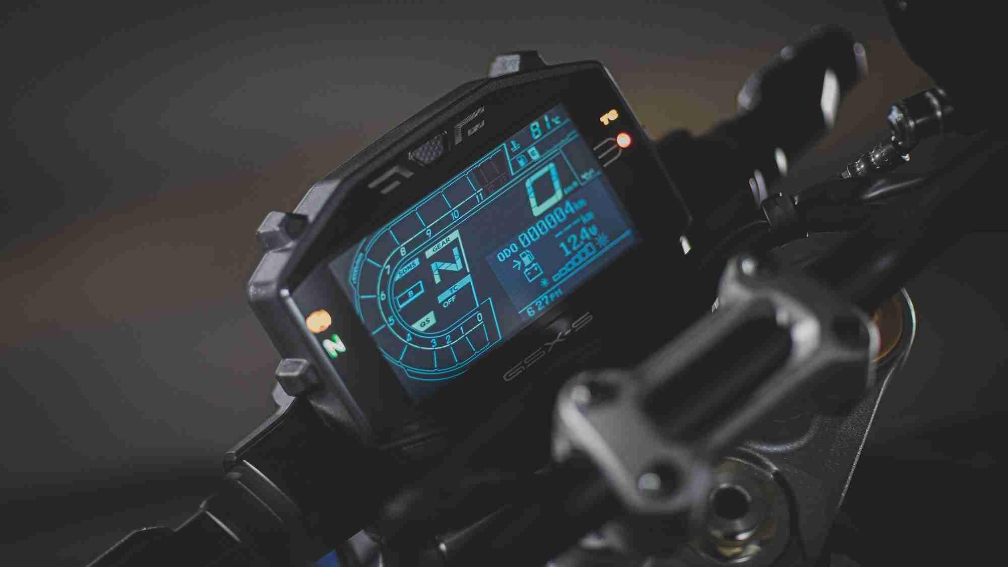 Suzuki GSX-S1000 screen