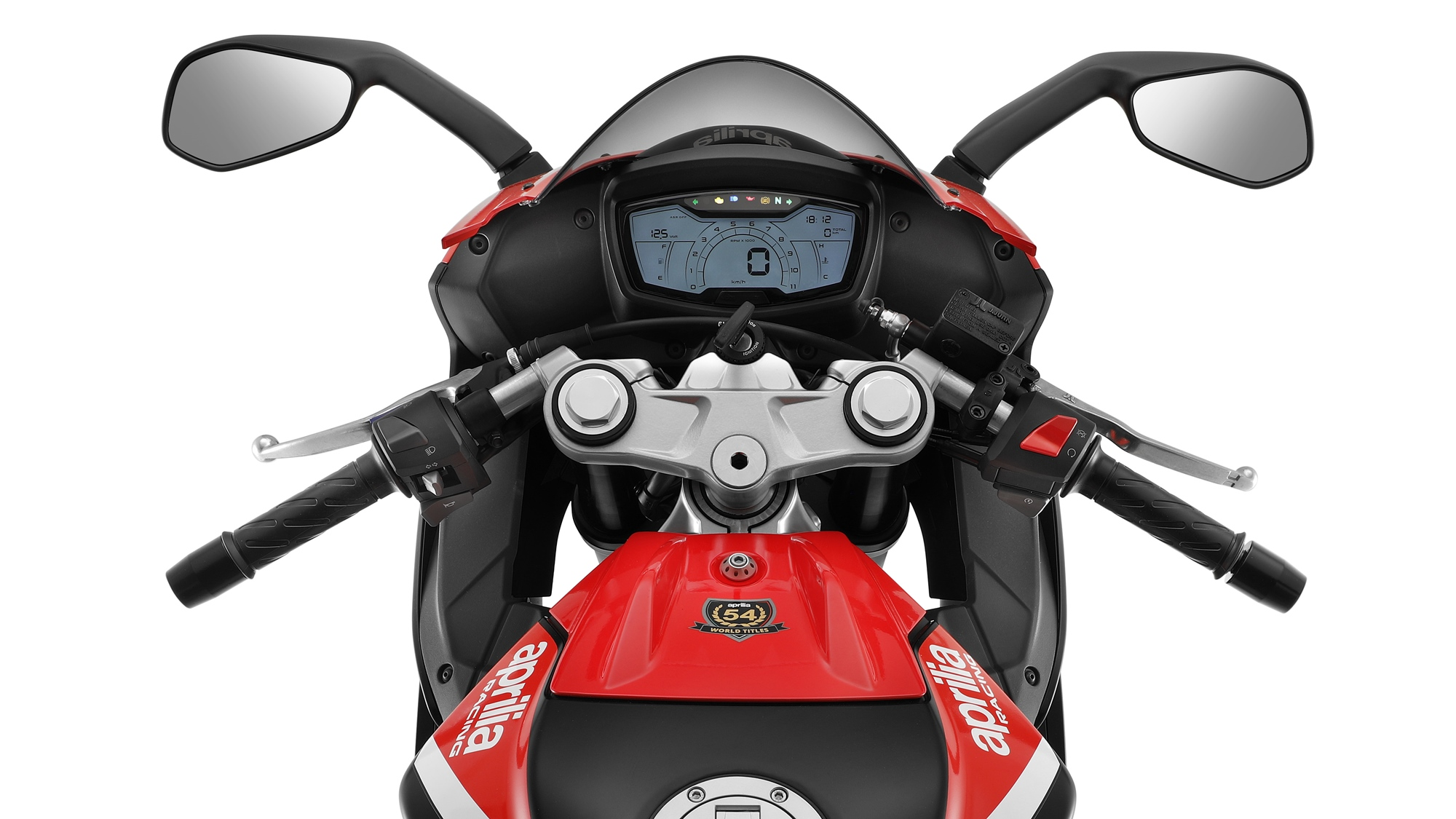 2021 Aprilia RS 125 TFT LCD digital screen
