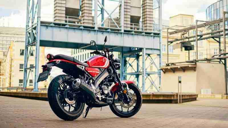 2021 Yamaha XSR125 silencer