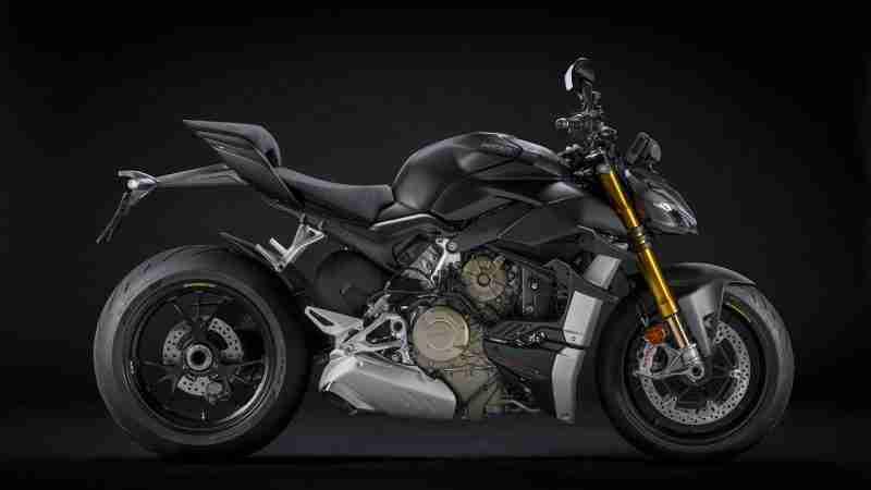 Ducati Streetfighter V4 S - Stealth Black