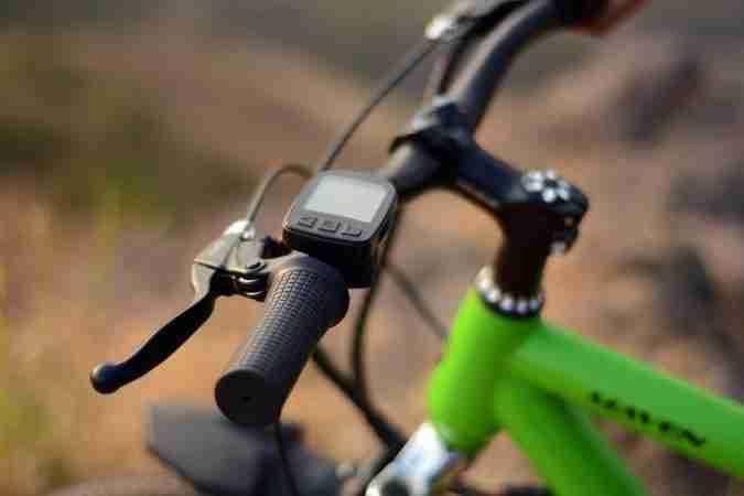 Felidae electric Maven e-bike e-cycle handlebar