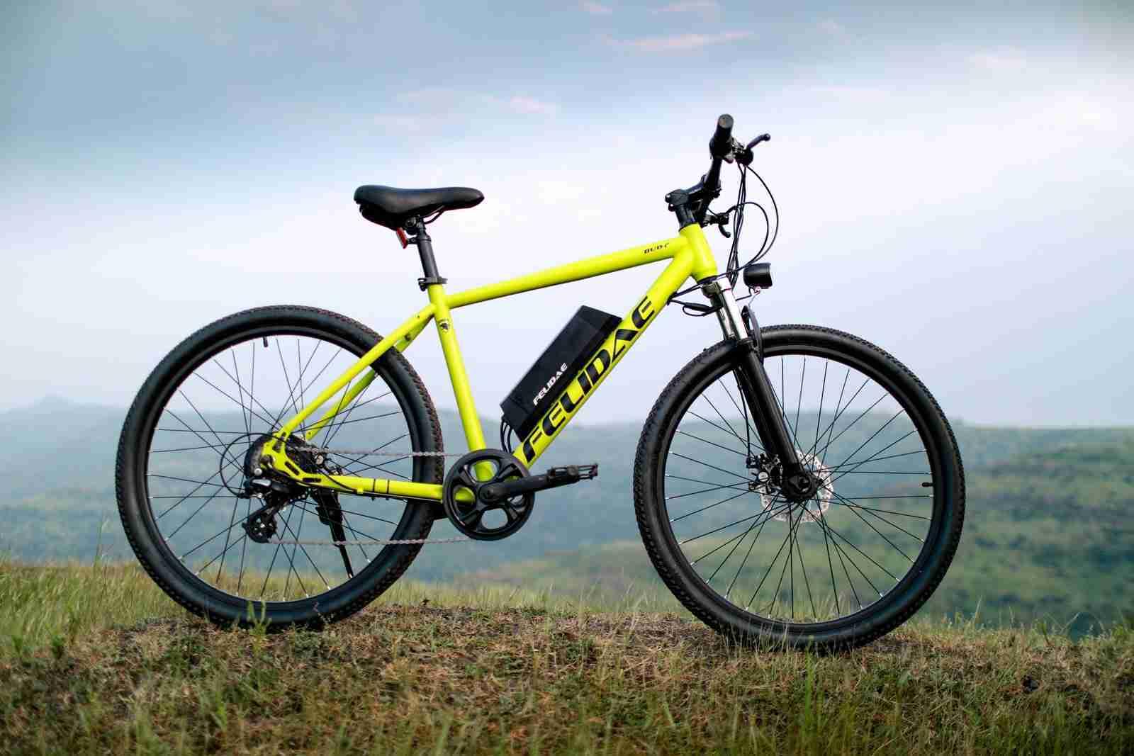 Felidae electric Maven e-bike e-cycle yellow