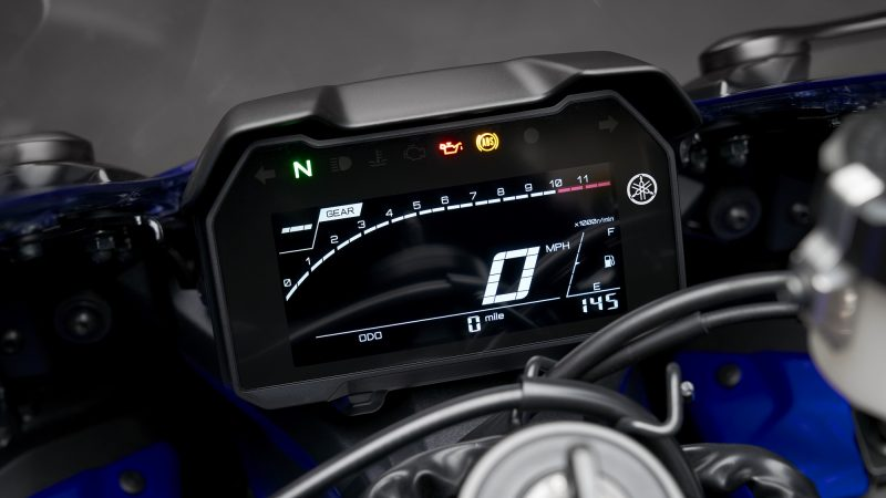 Yamaha YZF-R7 LCD instrument meter console