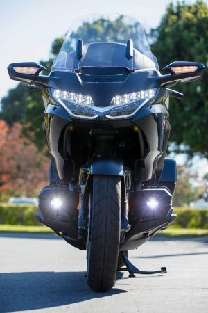 2021 Gold Wing Tour headlights